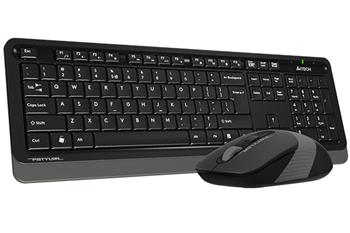 !REFURBISHED! A4tech FG1010, wireless mouse and keyboard, CZ/US, USB, grey