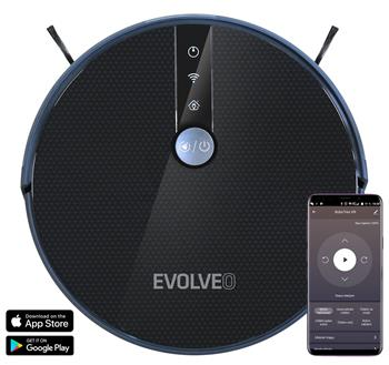 !REFURBISHED! EVOLVEO RoboTrex H9, robotic vacuum cleaner (wet wiping and charging station)