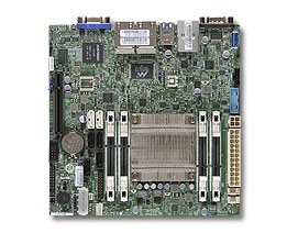 A1SRI-2758F mITX Rangeley C2758(2,4GHz,20W,8c,QuickAssist),PCI-E8,4GbE,4SO-DDR3-1600,6sATA,IPMI