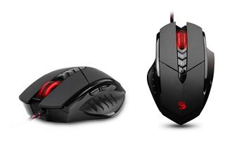 A4tech BLOODY V7 gaming mouse, 3200DPI, USB, CORE 3, Metal feets