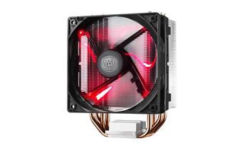 chladič Cooler Master Hyper 212 LED , univ. socket, 120mm PWM red LED fan