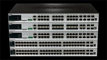 D-LINK DGS-3620-28TC Managed, stackable switch 24× 1GbE,4×SFP+ (10GbE)