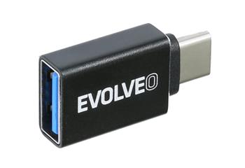 EVOLVEO C1, adapter USB A 3.1 - USB C 3.1 Gen 2, 10Gb/s