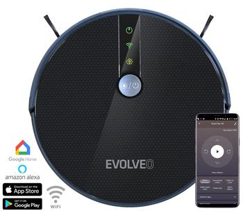 EVOLVEO RoboTrex H9, robotic vacuum cleaner (wet wiping and charging station)