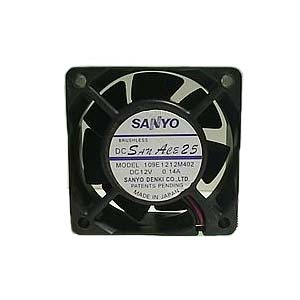 FAN-0061L4 fan for SC512-811-813-813M (40mm×40mm×28mm, 0,35A, 12500rpm, 16,3CFM, 44dBA) 3PIN