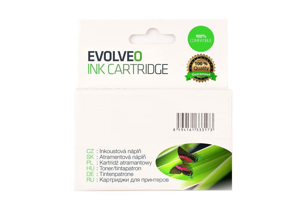 EVOLVEO CLI-8M cartridge ink.náplň pro Canon s čipem, purpurová]
