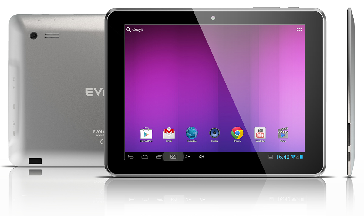 "EVOLVEO Vision XD8, 8"" Dual Core, Android 4.1 tablet]"