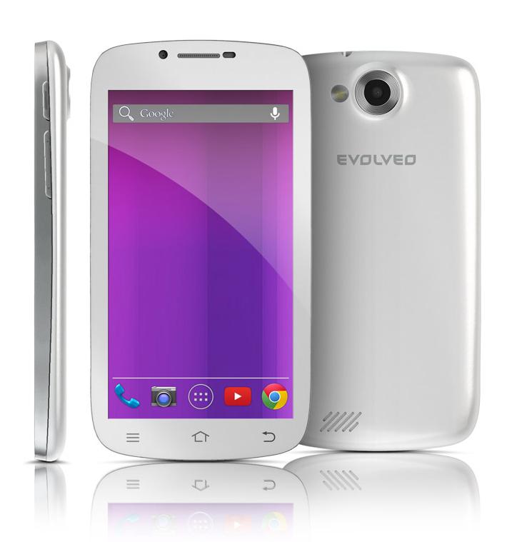 EVOLVEO XtraPhone 5.3 Q4, Quad Core Android smartphone]