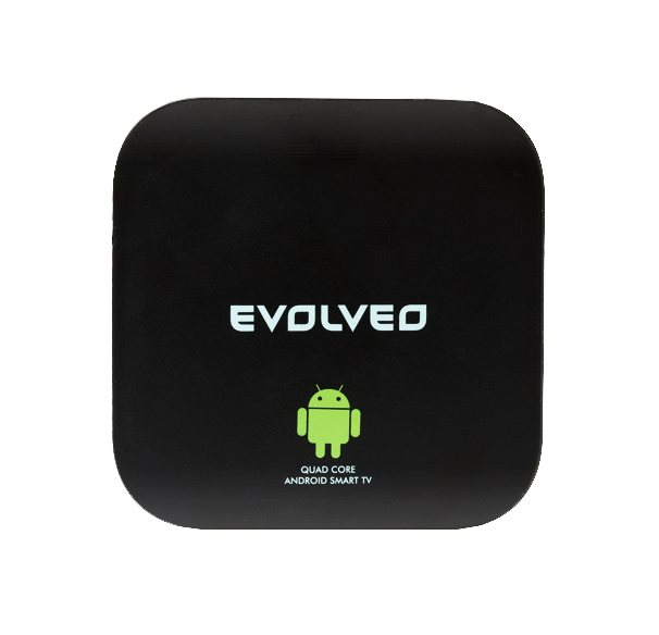 EVOLVEO Smart TV box Q4, Quad Core Android Smart TV box]