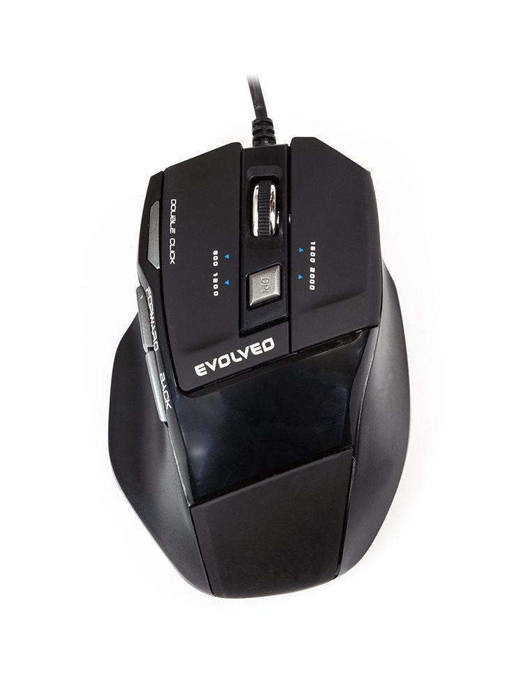 EVOLVEO MG730 herní myš s rozlišením 2000DPI]