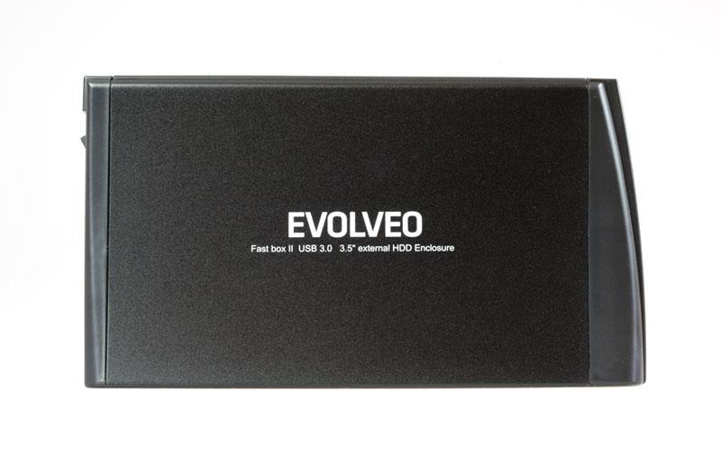 """EVOLVEO FastBox II, 3,5"""" externí rámeček na HDD, USB 3.0]"""