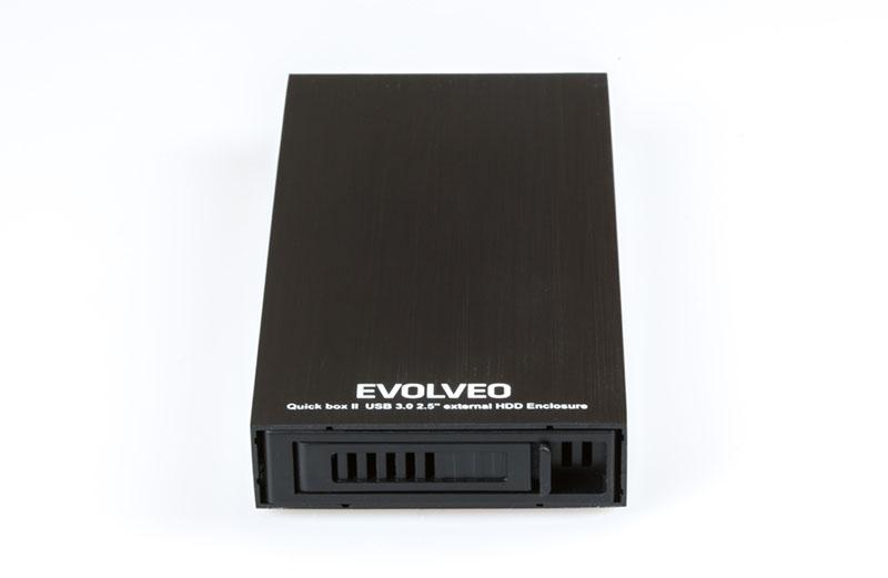 """EVOLVEO QuickBox II, 2,5"""" externí rámeček na HDD, USB 3.0]"""