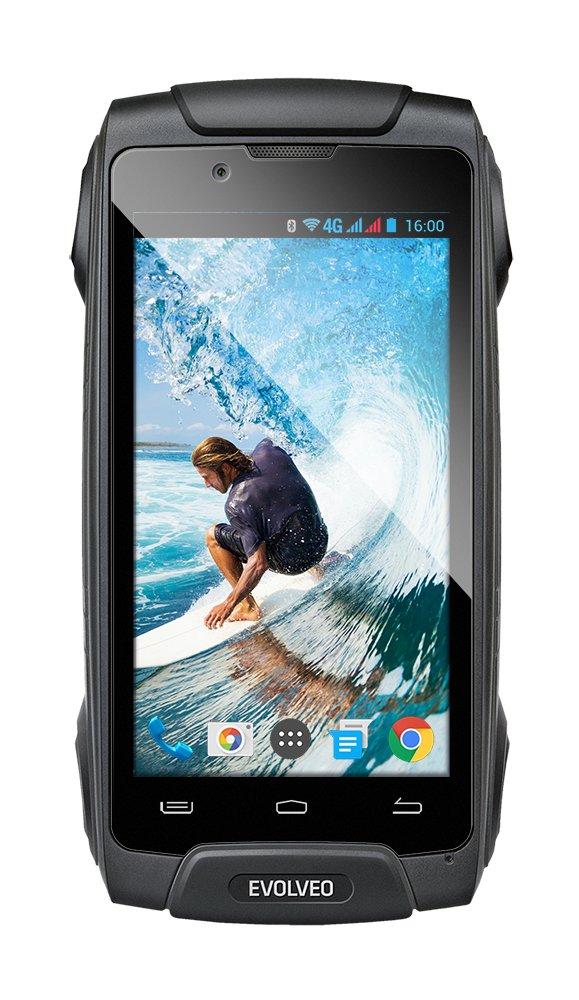 EVOLVEO StrongPhone Q8 LTE, vodotěsný odolný Android Octa Core smartphone]