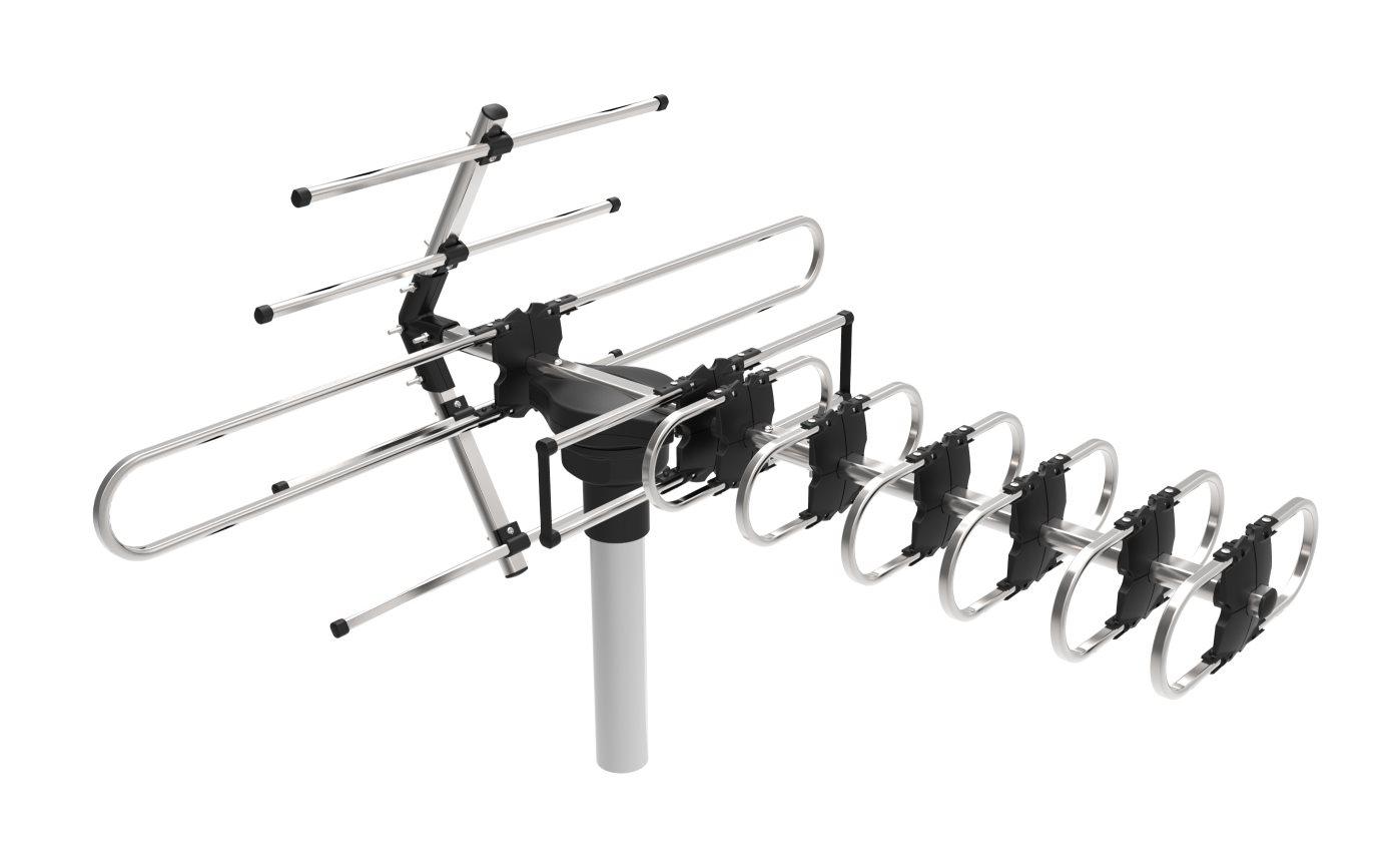 EVOLVEO GT, aktív kültéri DVB-T antenna]