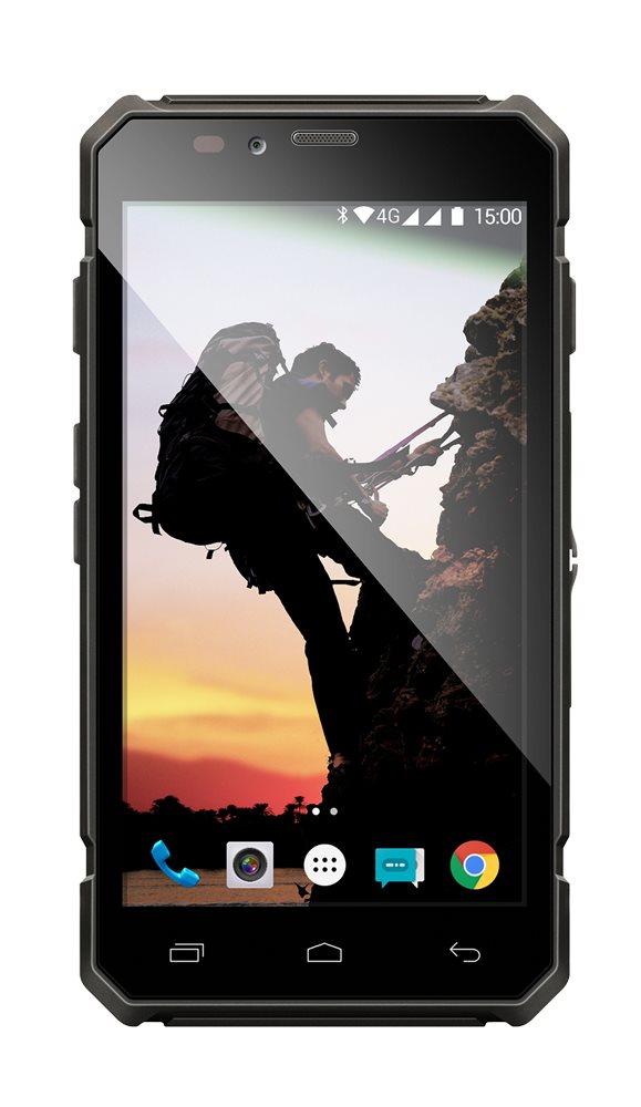 EVOLVEO StrongPhone Q6 LTE, vodotěsný odolný Android Quad Core smartphone]