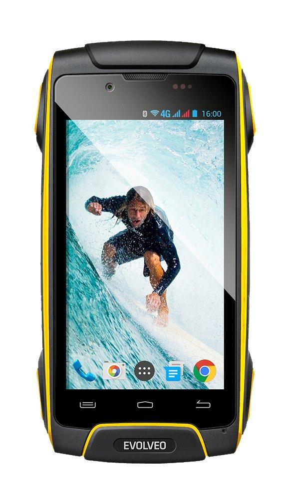 EVOLVEO StrongPhone Q8 LTE, vízálló, masszív Android Octa Core smartphone]