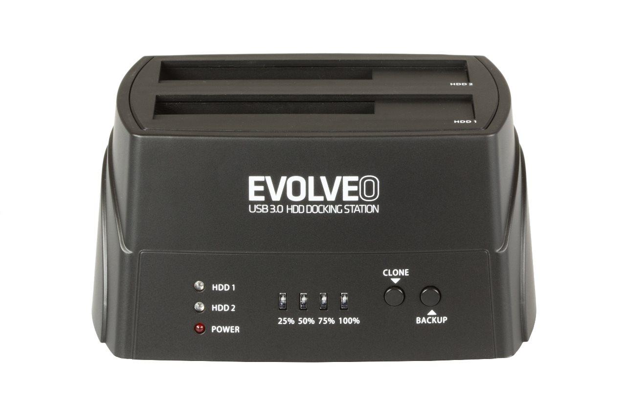 EVOLVEO HDD dokovací stanice, USB 3.0]
