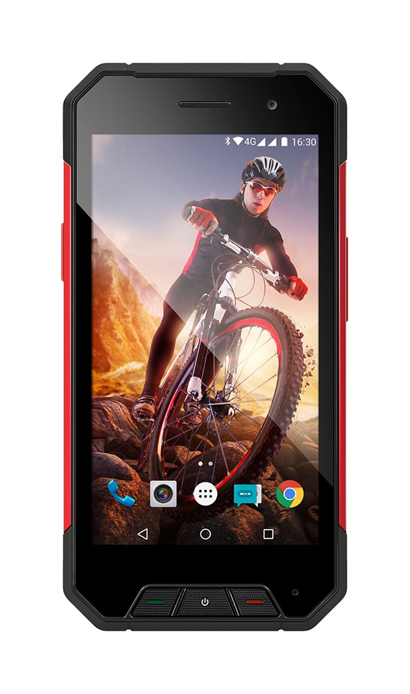 EVOLVEO StrongPhone Q7 LTE, vodotěsný odolný Android Quad Core smartphone]