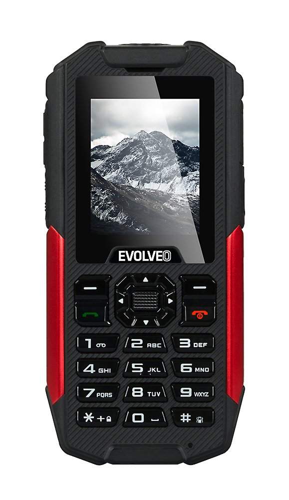 EVOLVEO StrongPhone X3, wateproof rugged Dual SIM phone]