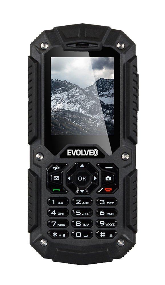 EVOLVEO StrongPhone X2, vodotěsný odolný Dual SIM telefon]