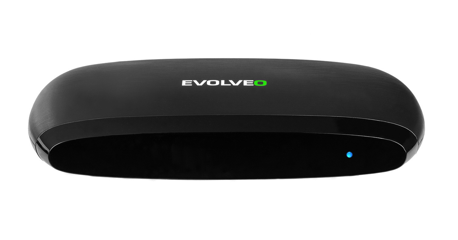 EVOLVEO Android Box Q4 4K, Quad Core Smart TV box s podporou 4K videa]