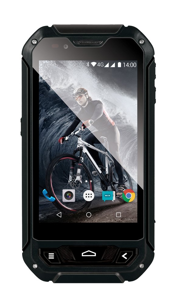 EVOLVEO StrongPhone Q5, waterproof and rugged Android Quad Core Smartphone]