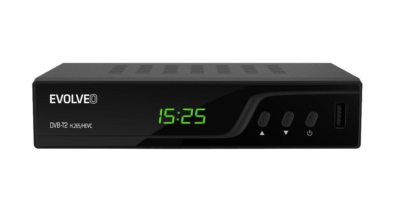EVOLVEO Omega T2, HD DVB-T2 H.265/HEVC recorder]