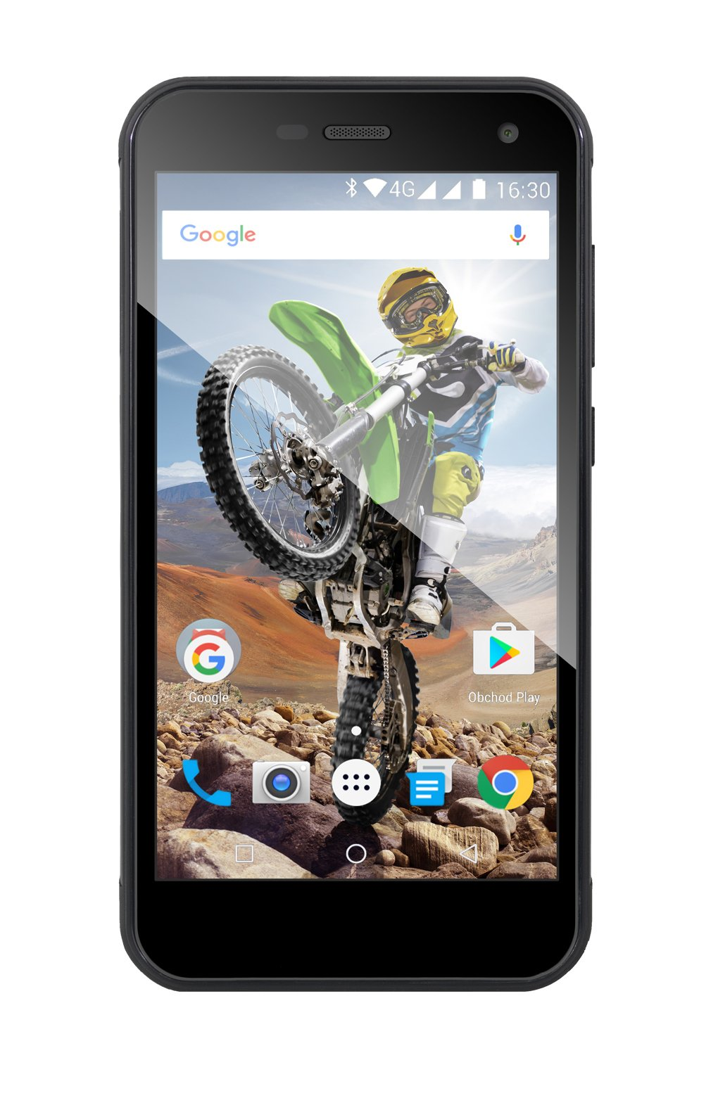 EVOLVEO StrongPhone G4, waterproof rugged Android Quad Core smartphone]