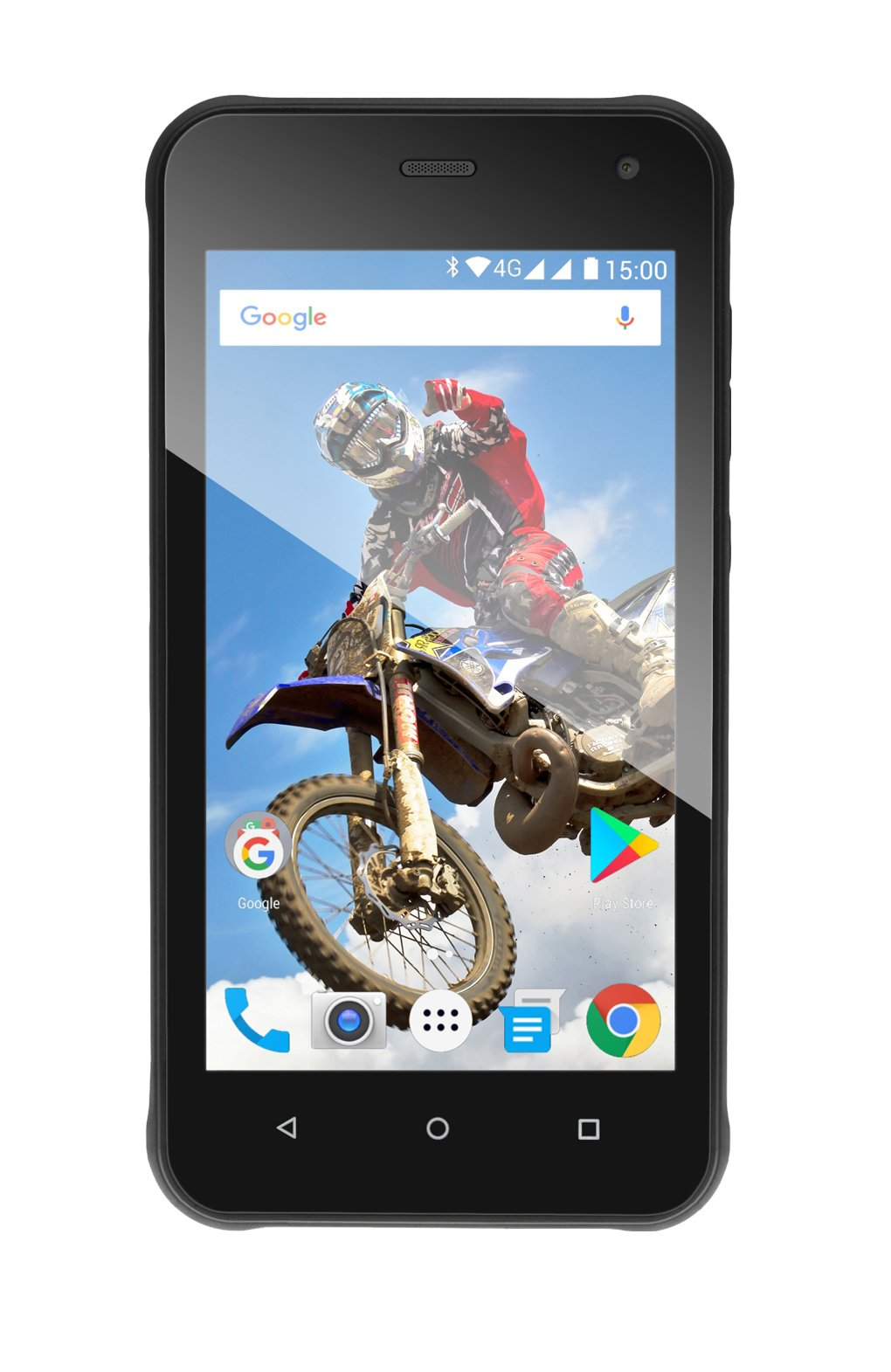 EVOLVEO StrongPhone G2, waterproof rugged Android Quad Core smartphone]