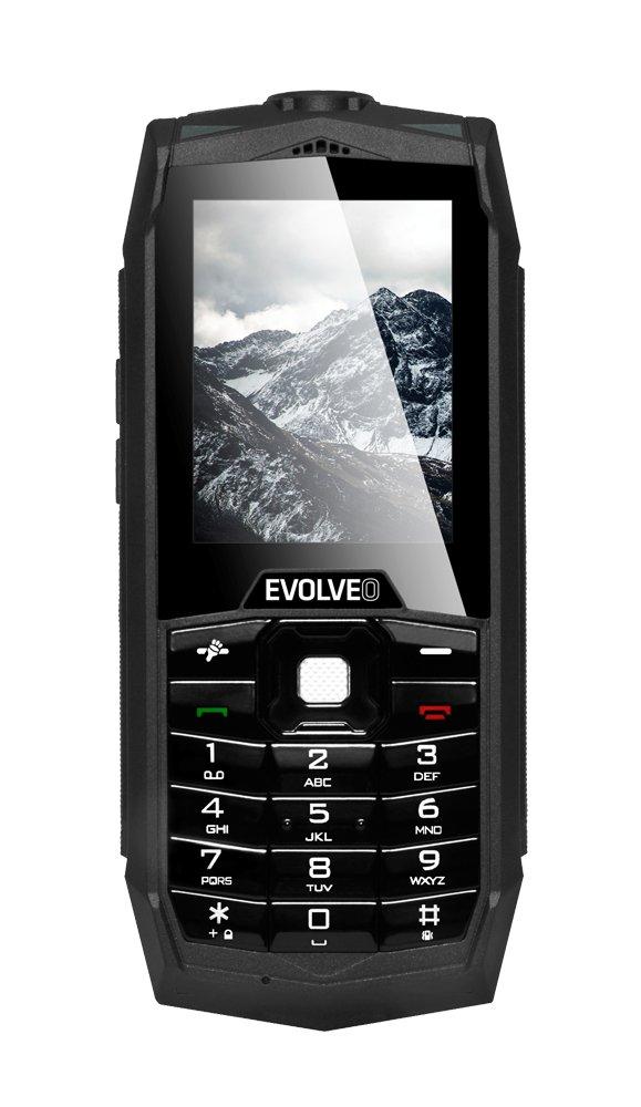 EVOLVEO StrongPhone Z1, waterproof rugged Dual SIM mobile phone]