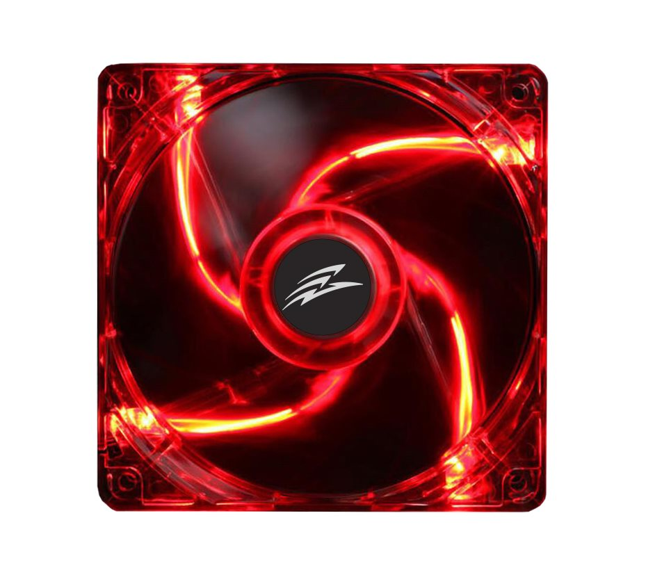 EVOLVEO 14L1RD fan 140mm, 4 LED red]
