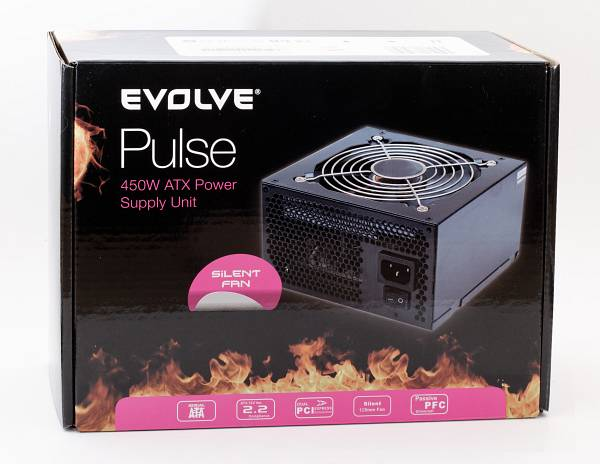 EVOLVEO Pulse, zdroj 450W ATX, retail]
