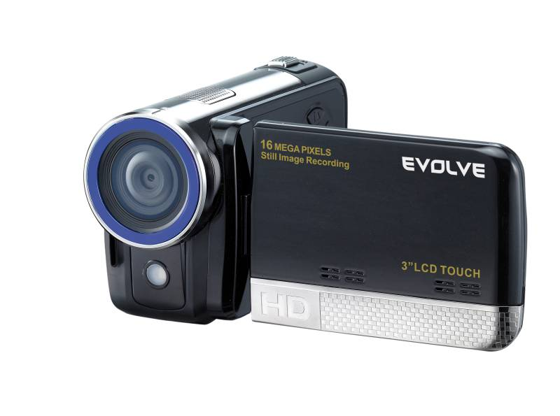 """Videokamera 1500HD Touch (5Mpix, 4x digitální zoom, 3"""" dotykový LCD, HD 720p, - OEM bílý obal bez potisku]"""