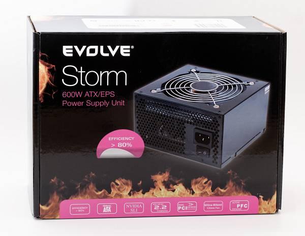 EVOLVEO Storm 80+ zdroj 600W ATX,  retail]