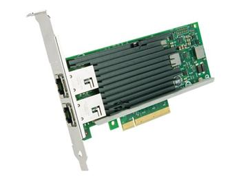 Intel® Ethernet Converged Network Adapter X540-T2, Dual port 10GbE-T PCI-E8g2, LP