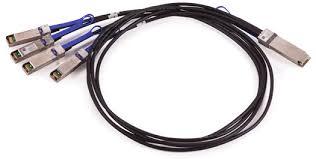 Mellanox QSFP28/100GbE --> 4× SFP28/25GbE metalický kabel 1m