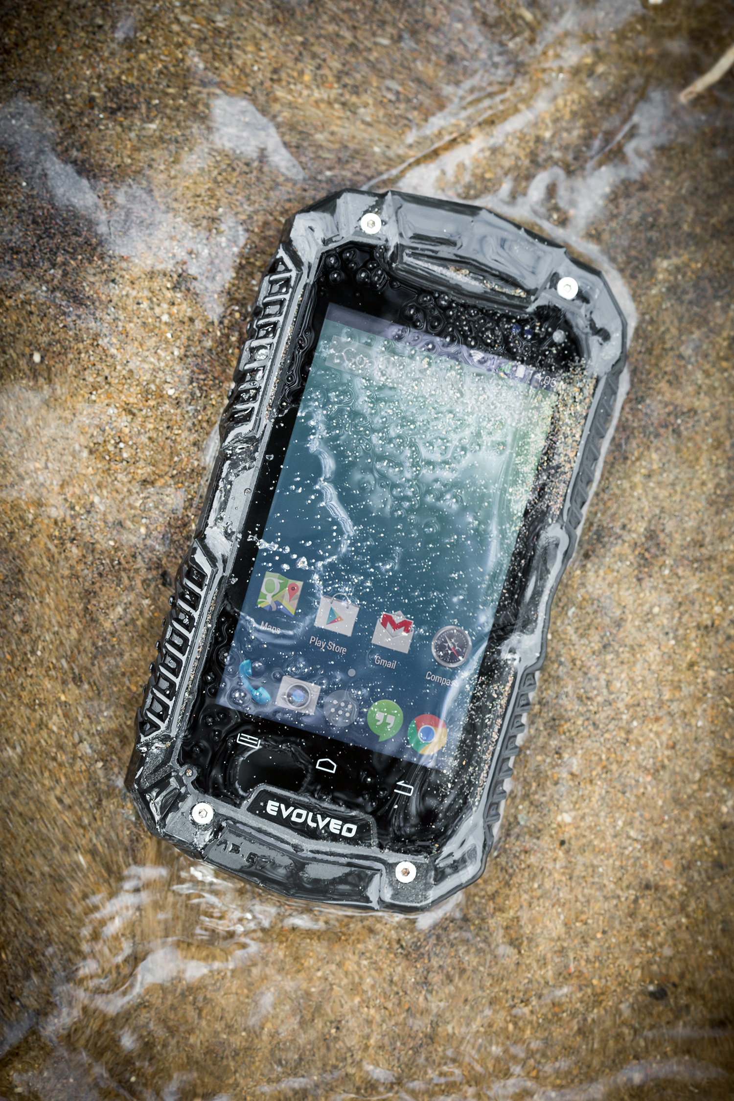 EVOLVEO StrongPhone D2 Mini, wateproof rugged Android Dual Core