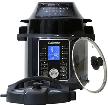 Salente Ario, multifunctional electric pressure cooker with air fryer