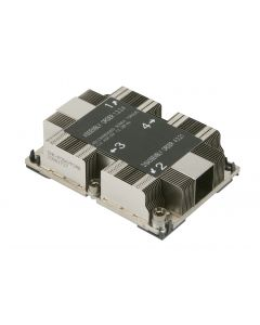 SNK-P0067PS Pasivní 1U heatsink for LGA3647 (SocketP) narrow ILM Wide Middle Air Channel