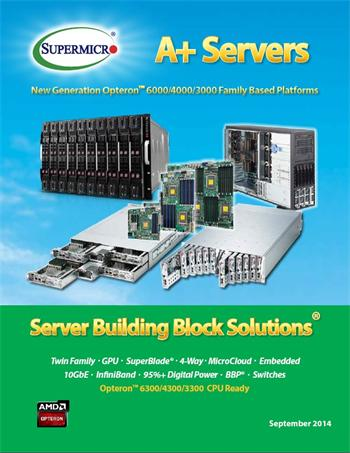 Supermicro Brochure - New Generation A+ 2014, 52 pages