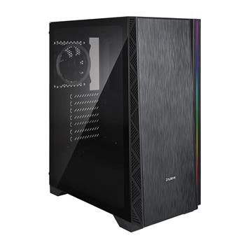 Zalman case miditower Z3 NEO, E-ATX/mATX/ATX, window side panel, w/o PSU, 2×USB3.0, black